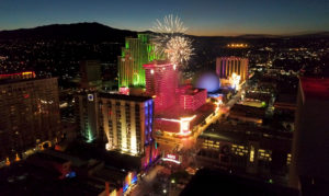 December Events in Reno/Sparks - New Year's Eve Downtown Fire Works Display