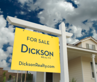 Dickson for sale sign